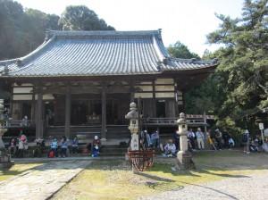 本宿の法蔵寺へ到着