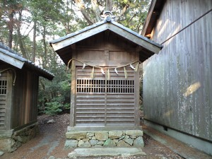 関山神社 奥の宮