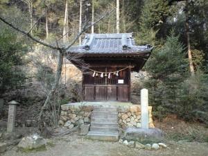 関山神社内の若宮社
