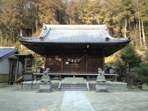 関山神社 本殿