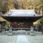 関山神社に参拝 その1