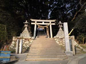 関山神社鳥居