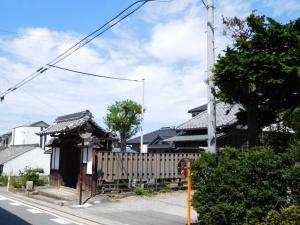 藤川資料館(脇本陣跡)の景色