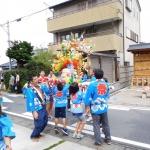 関山神社大祭こども神輿